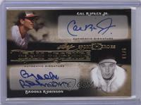 Cal Ripken Jr., Brooks Robinson /10