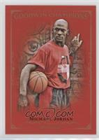Complete Royal Red Base 1-100 Set - Michael Jordan