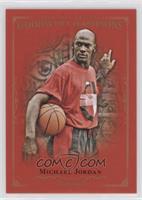 Complete Royal Red Base 1-100 Set - Michael Jordan