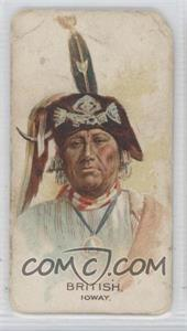 1888 Allen & Ginter Celebrated American Indian Chiefs Tobacco N2 #BRIT - British