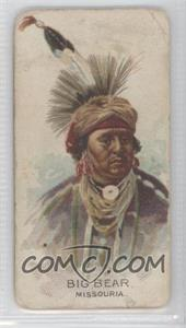 1888 Allen & Ginter Celebrated American Indian Chiefs Tobacco N2 #NoN - Big Bear [Good to VG‑EX]