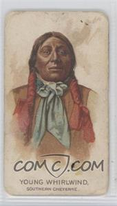 1888 Allen & Ginter Celebrated American Indian Chiefs Tobacco N2 #YOWH - Young Whirlwind [Good to VG‑EX]