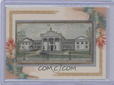 1889 Allen & Ginter General Government and State Capitol Buildings of the United States Tobacco N14 #AK - Capitol of Arkansas