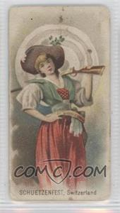 1890 Duke's Holidays Tobacco N80 #N/A - Schuetzenfest, Switzerland [Good to VG‑EX]