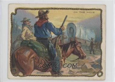 1909-12 Hassan Cowboy Series - Tobacco T53 #NoN - On The Move [Good to VG‑EX]