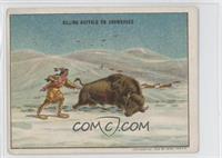 Hunting Buffalo on Snow Shoes [GoodtoVG‑EX]
