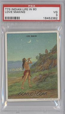 """1910 Hassan Indian Life in the """"60's"""" T73 #NoN - Love Making [PSA3]"""