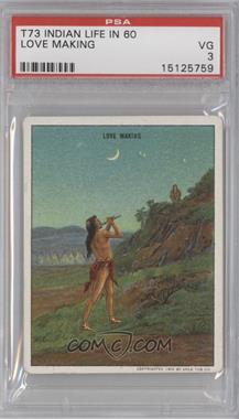 "1910 Hassan Indian Life in the ""60's"" T73 #NoN - Love Making [PSA 3]"