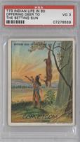 Offering Deer To The Setting Sun [PSA3]