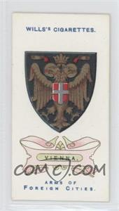 1912 Wills Arms of Foreign Cities - Tobacco [Base] #29 - Vienna