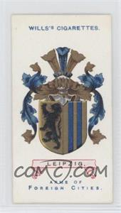 1912 Wills Arms of Foreign Cities - Tobacco [Base] #35 - Leipzig