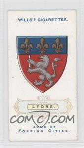 1912 Wills Arms of Foreign Cities - Tobacco [Base] #36 - Lyons.