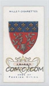1912 Wills Arms of Foreign Cities - Tobacco [Base] #7 - Amiens