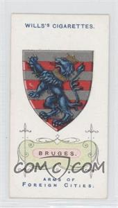 1912 Wills Arms of Foreign Cities Tobacco [Base] #10 - Bruges
