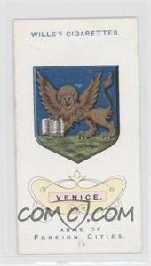 1912 Wills Arms of Foreign Cities Tobacco [Base] #2 - Venice