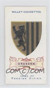 1912 Wills Arms of Foreign Cities Tobacco [Base] #31 - Dresden