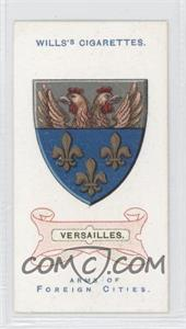 1912 Wills Arms of Foreign Cities Tobacco [Base] #37 - Versailles