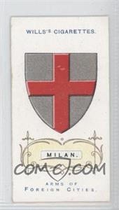 1912 Wills Arms of Foreign Cities Tobacco [Base] #38 - Milan