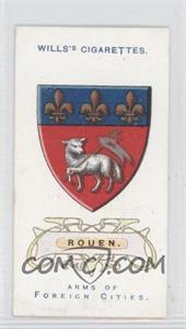 1912 Wills Arms of Foreign Cities Tobacco [Base] #42 - Rouen.
