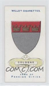 1912 Wills Arms of Foreign Cities Tobacco [Base] #8 - Cologne