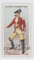 11th (Prince Albert's Own) Hussars.) [Good to VG‑EX]