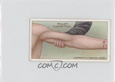 1913 Wills First Aid Tobacco [Base] #12 - Compression of Artery