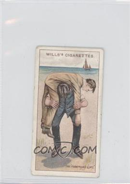 1913 Wills First Aid Tobacco [Base] #18 - The Fireman's Lift No. 1 [Good to VG‑EX]