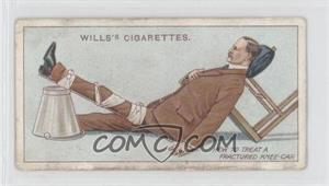 1913 Wills First Aid Tobacco [Base] #26 - Fractured Knee-cap [GoodtoVG‑EX]