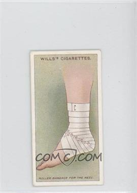 1913 Wills First Aid Tobacco [Base] #9 - Roller Bandage