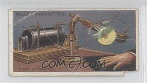 1915 Wills Famous Inventions Tobacco [Base] #22 - X-ray Apparatus [Poor]