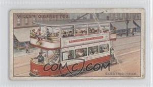 1915 Wills Famous Inventions Tobacco [Base] #48 - Electric Tram. [GoodtoVG‑EX]