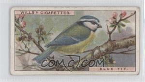 1917 Wills British Birds - Tobacco [Base] #19 - Blue Tit [GoodtoVG‑EX]