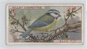 1917 Wills British Birds Tobacco [Base] #19 - Blue Tit [Good to VG‑EX]