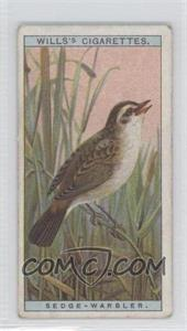 1917 Wills British Birds Tobacco [Base] #26 - Sedge-Warbler [Good to VG‑EX]