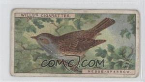 1917 Wills British Birds Tobacco [Base] #38 - Hedge-Sparrow [Good to VG‑EX]