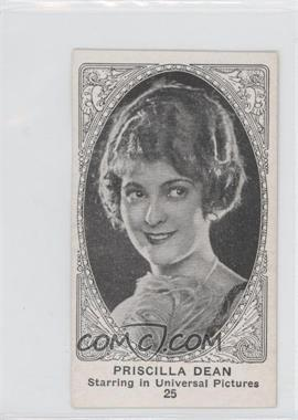 1921 American Caramel Movie Actors and Actresses E123 Blank Back #25 - Priscilla Dean [Good to VG‑EX]