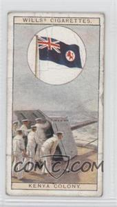 1926 Wills Flags of the Empire Tobacco [Base] #20 - Flag of Kenya Colony