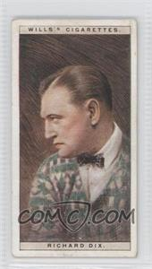 1928 Wills Cinema Stars Series 1 - Tobacco [Base] #11 - Richard Dix [GoodtoVG‑EX]