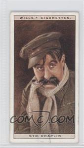 1928 Wills Cinema Stars Series 1 - Tobacco [Base] #4 - Syd Chaplin