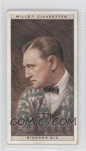1928 Wills Cinema Stars Series 1 Tobacco [Base] #11 - Richard Dix [GoodtoVG‑EX]