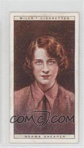 1928 Wills Cinema Stars Series 2 - Tobacco [Base] #22 - Norma Shearer