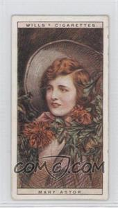 1928 Wills Cinema Stars Series 2 Tobacco [Base] #1 - Mary Astor