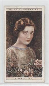 1928 Wills Cinema Stars Series 2 Tobacco [Base] #11 - Alice Joyce