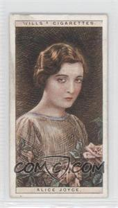 1928 Wills Cinema Stars Series 2 Tobacco [Base] #11 - Alice Joyce