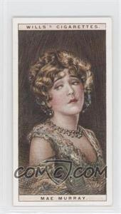 1928 Wills Cinema Stars Series 2 Tobacco [Base] #19 - Mae Murray