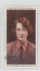 1928 Wills Cinema Stars Series 2 Tobacco [Base] #22 - Norma Shearer