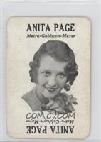 Anita Page [Good to VG‑EX]