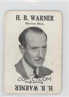 H.b. Warner [Good to VG‑EX]