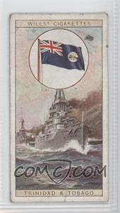 1929 Wills Flags of the Empire Series 2 Tobacco [Base] #24 - Flag of Trinidad and Tobago [Good to VG‑EX]