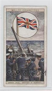 "1929 Wills Flags of the Empire Series 2 Tobacco [Base] #5 - The ""Sabath Jack"" of British N. Borneo [Good to VG‑EX]"